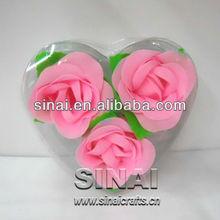 Wedding Favors Rose Scented / Wedding Decoration / Scented Petal Rose Soap