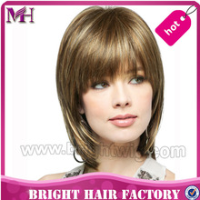 Top quality competitive price synthetic hair lace wig