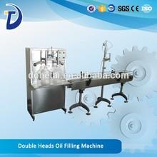 Double Heads Oil Filling Machine 200-600 B / h 1-5 L
