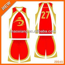 top sale transfer printing school jersey