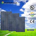bluesun 30v panel solar 250w poli panel solar señal de tráfico