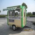 2014 novo design quiosque trailer!!! Personalizado alimentos carrinho de comida van jx-fr220hd