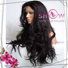 2013 new products Virgin Brazilian full lace wigs Supply 5A Grade human hair wig long super wavy hiar wigs for white women