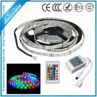 Waterproof DC12V 5050 60leds/m 14.4w/m 840lm/m CE&RoHS cerificated wholesale rgb led strip 5050