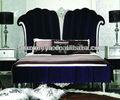 King size de madeira jogos de quarto, hotel cama box spring