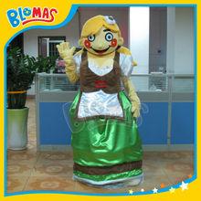 professional design human mascot