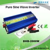 2000W 1 phase ac frequency inverter12vdc to 220vac for electrics