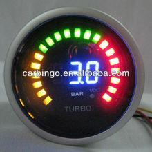 Auto Racing LED Digital Boost Gauge