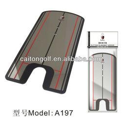 A197 Mirror Putting Trainer,Putter Training Aids,Golf Putting Mirror