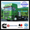 China strong professional 420hp engine the truck tractor on sale