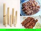 Bulk disposable bamboo bbq skewer stick