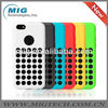 Slim Dotted case for iphone 5c ,for iphone 5c silicone case