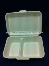 Bio- 2 Compartment Lunch Box