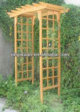 Classic Trellis Wooden Garden Arch / Wooden Garden Arbor