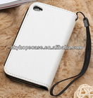 Wallet Leather Case with Grip for Mobile Phone