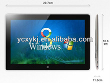 2013 Celeron1037U Dual Core 1.8GHz Capacitive& Electromagnetic Touch Screen win8 Tablet