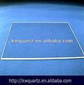 transparente de alta resistencia a la temperatura de laboratorio de vidrio pulido de la placa precio