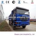 Shacman 6 x 6 euro3 camión volquete para la venta