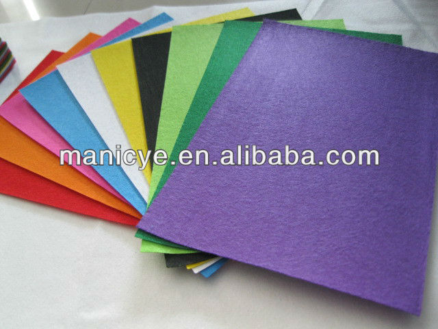 China Manufacturer-Non woven Felt for Embroidery