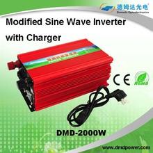 2000w portable micro modify sine wave power inverter