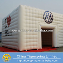 brand hot sale advertising inflatable cube tent