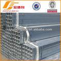 Q235 galvanizado rectangular / tubo cuadrado de acero