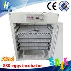 egg incubator 880 eggs hatching machine for broiler farming