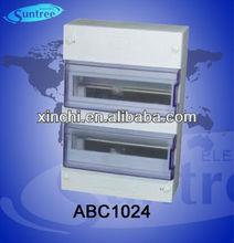 ABC series 1024 plastic fireproof distribution box