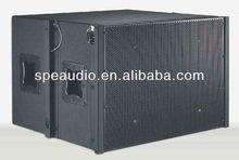 SPE AUDIO LA-3AD/SUB dual 12 inch 1000W RMS active pro line array subwoofer