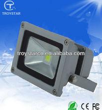 Shenzhen manufacturer 110lm/w Ra>80 ip65 10w cob led flood lights indoor