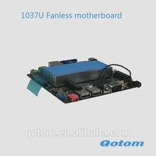 slim mini-itx motherboard,intel celeron c1037u nano itx motherboard,Q1037U smart size mainboard
