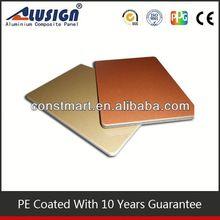 Cladding aluminum composite panel bending