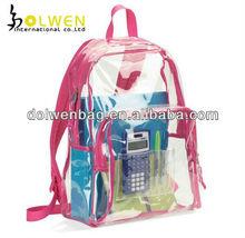 Fashion Girls Clear PVC Backpack
