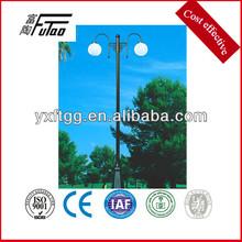pedestrian crossing light pole