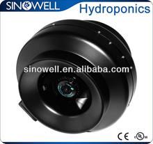 In-line fan,inline duct fan for hydroponic ventilation