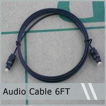 Digital Optical Fiber Optic Toslink Audio Cable 6FT