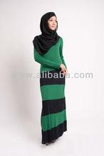 Long Sleeve Jubah Abaya Muslim Dress FJ0088