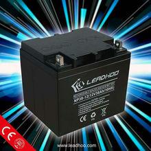 AGM batteri 12V 38Ah lead acid solar pack