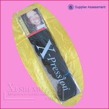 100% kanekalon synthetic hair fiber braids/xpression