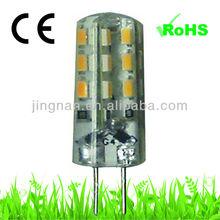 12v G4 led bulbs 1.5W 110lm g4 lights led with CE/ROHS