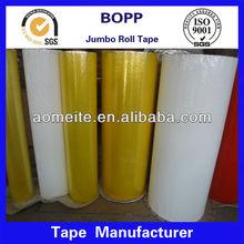china supplier color bopp adhesive acrylic tape jumbo roll