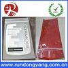 High quality custom printed clear plastic bag with ziplock