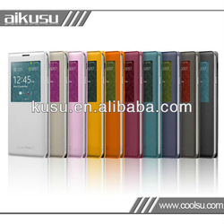 Manufactory pu leather case for galaxy note3