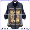 hot selling fashion long sleeve chiffon prints tops new design ladies blouses