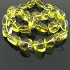 Lemon Quartz Smooth Nuggets Semi Precious Gemstone Beads Wholesale