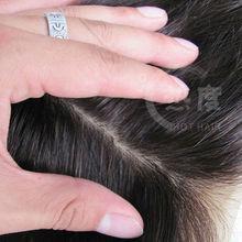 silk top closure invisible part closure brazilian hair closure