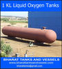 1 KL Liquid Oxygen Tanks