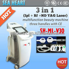 Wholesale - Tattoo removal, hair removal, skin care---E-light IPL+ rf /Laser skin rejuvenation beauty machine