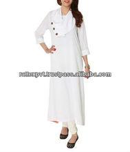 White Colour Gorgoues Womens Dress 2013