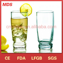 high quality wholesale handmade coloured drinking glass / tumbler glass